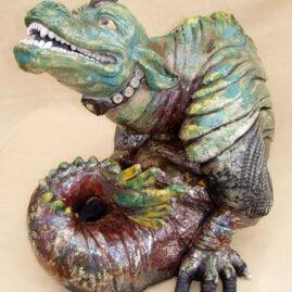 sculpture dragon : Aeternalis-Emmanuelle Not