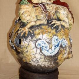 sculpture dragon : Draco-Emmanuelle Not