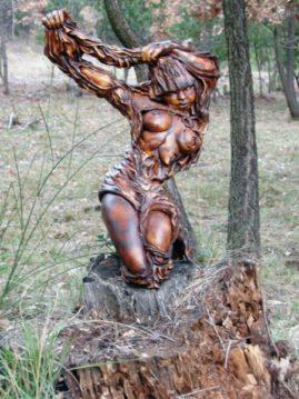 la mue d'Isa dans les bois-Emmanuelle Not
