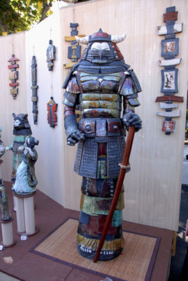 le premier samouraï à Argilla-Emmanuelle Not