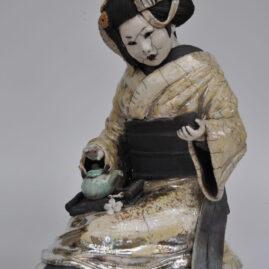 geisha cérémonie du thé-Emmanuelle Not