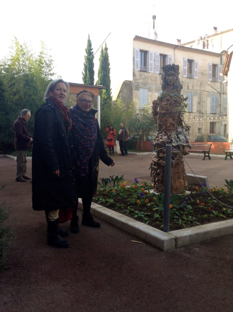 Inauguration de la « Dragonne » à Draguignan
