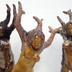 sculpture jeunes vignes-Emmanuelle Not