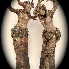 sculpture-vigne vitis vinifera-Emmanuelle Not