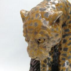 sculpture guépard-Emmanuelle Not