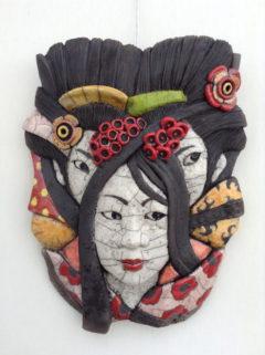 masque geisha raku-Emmanuelle Not