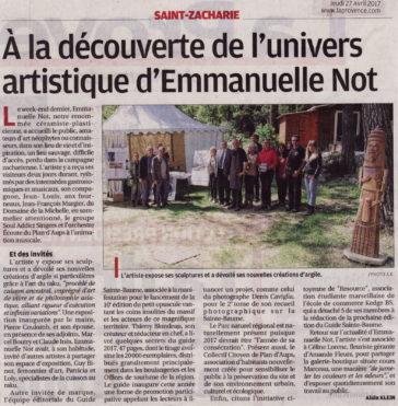 La Provence, jeudi 27 avril 2017