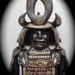 sculpture armure samouraï-Emmanuelle Not