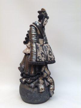 sculpture geisha-Chikyu-Emmanuelle Not