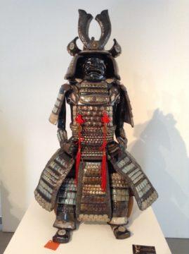sculpture armure samouraï-Nintai-Emmanuelle Not