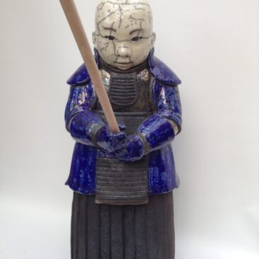 sculpture kendo en raku-Akihiko-Emmanuelle Not