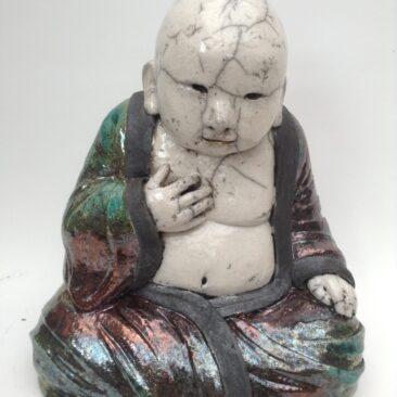sculpture raku-Sage-Emmanuelle Not