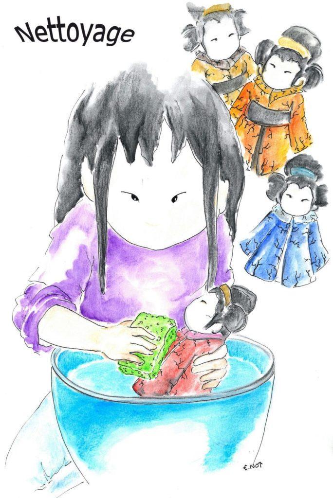 Le raku : le nettoyage selon Emmanuelle Not