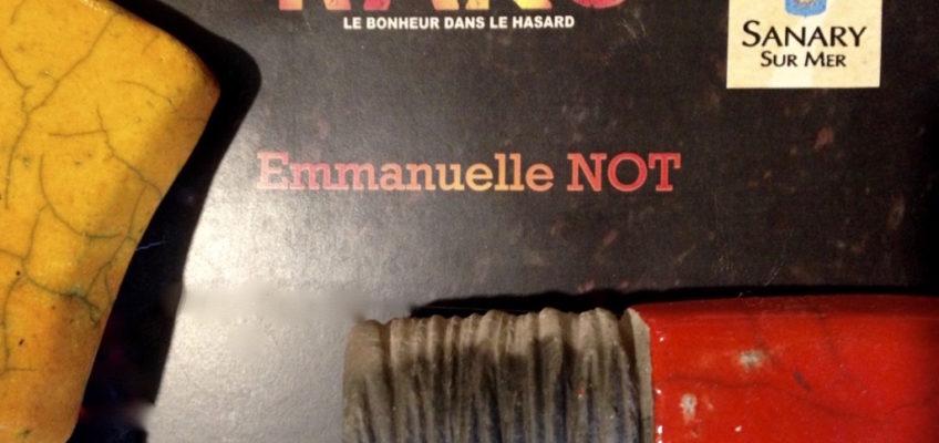 Sanary-sur-Mer-biennale raku-Emmanuelle Not
