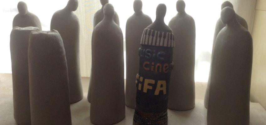 trophées music et cinéma-FIFA Aubagne-modelage-Emmanuelle Not