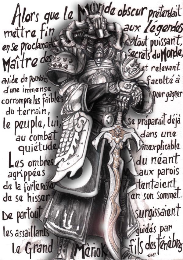 Le seigneur Mériok - Raku - Emmanuelle Not