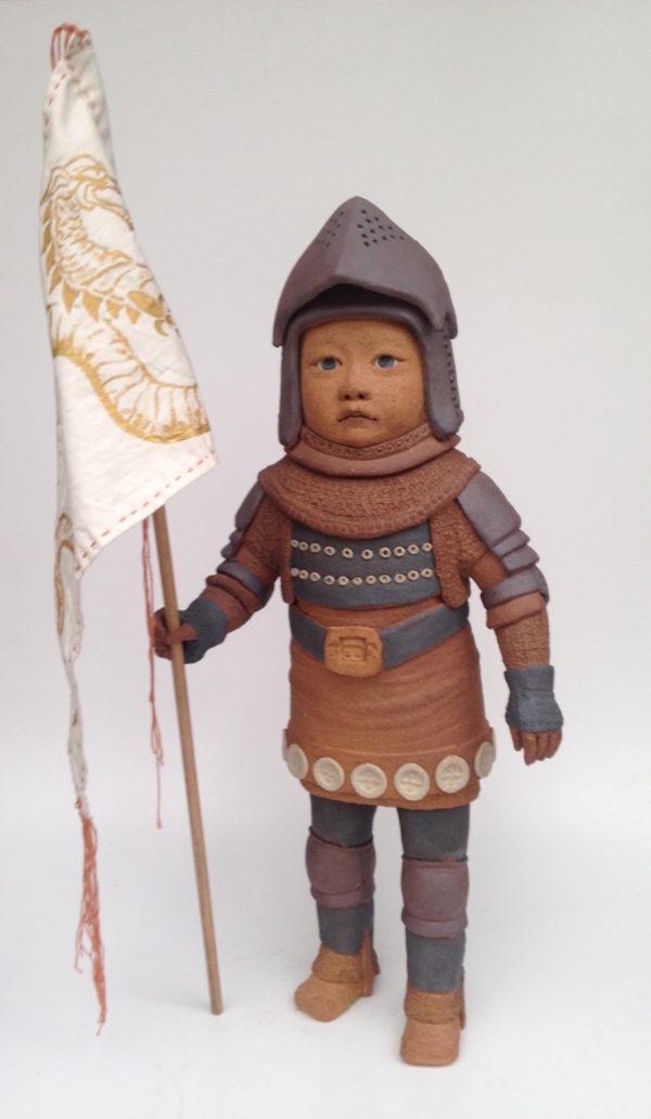 Enfant guerrier3 - haute température - Emmanuelle Not
