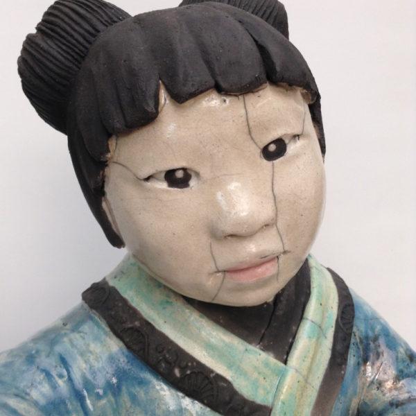 Enfant Amako - Raku - Emmanuelle Not