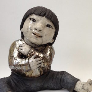 enfant d'Asie 2 - Raku - Emmanuelle Not