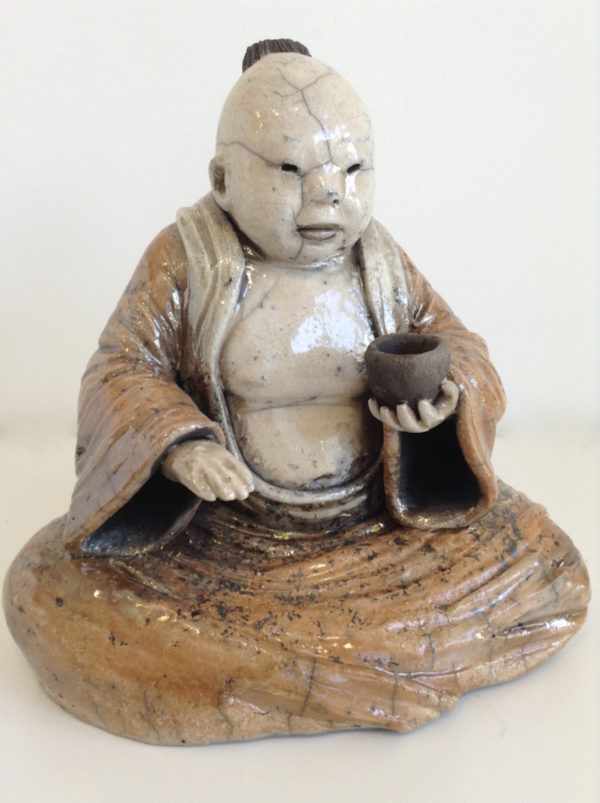sage 4 - cérémonie du thé - Raku - Emmanuelle Not