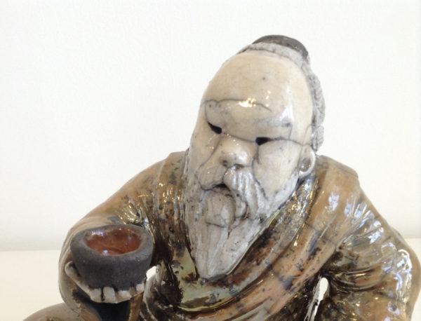 sage - cérémonie du thé - Raku - Emmanuelle Not