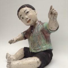 Enfant d'Asie Hatsuharu - Raku - Emmanuelle Not