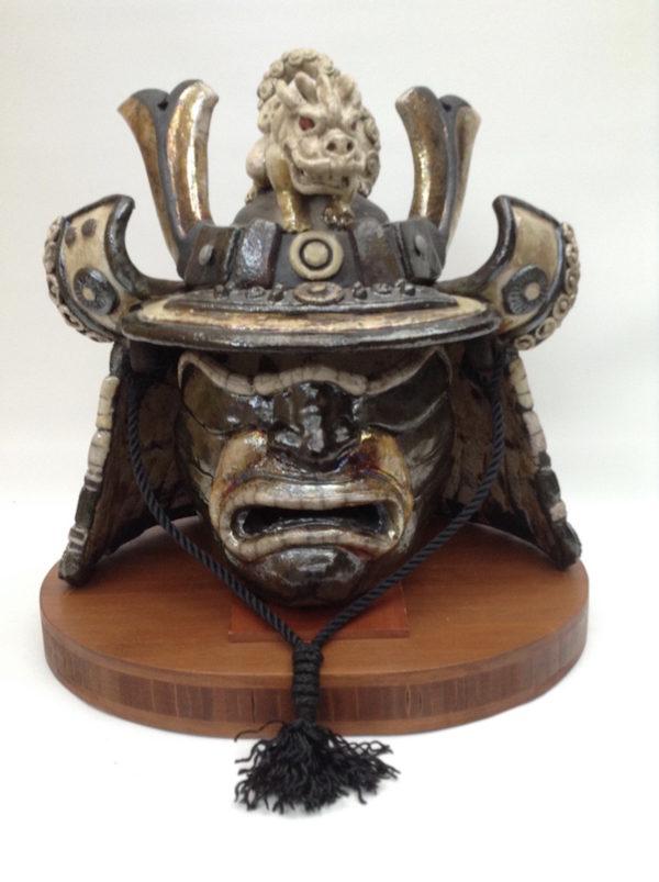 Kabuto dragon- casque de samouraï-Raku-Emmanuelle Not