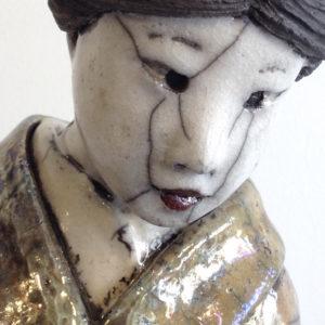 geisha longue n°1 - Raku - Emmanuelle Not