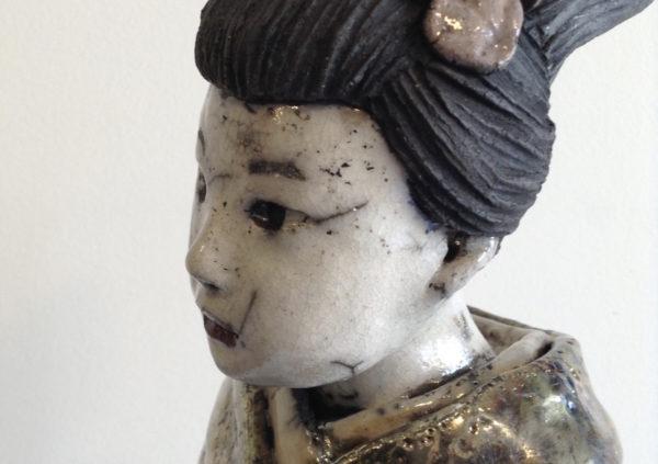 geisha longue n°2 - Raku - Emmanuelle Not