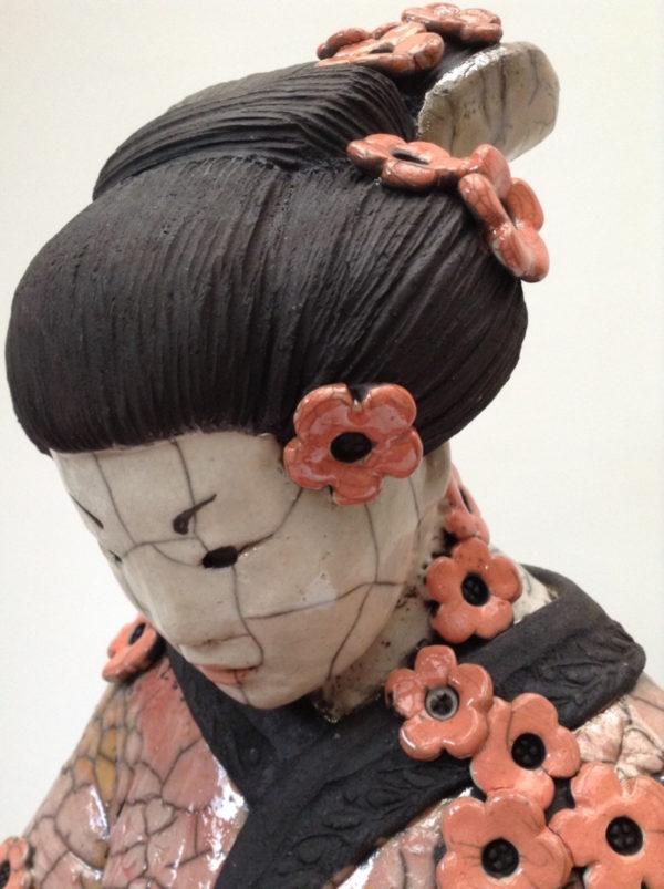 Geisha Sakura - Raku - Emmanuelle Not