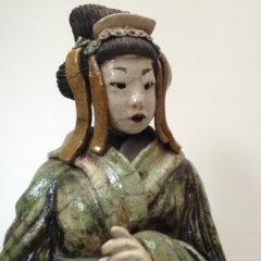 Geisha Saë - Raku - Emmanuelle Not