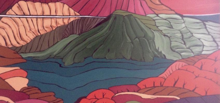 Horizons - peinture - Emmanuelle Not