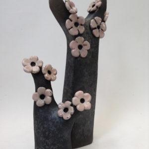Cerisier décoration - Raku - Emmanuelle Not